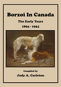 Borzoi in Canada The Early Years