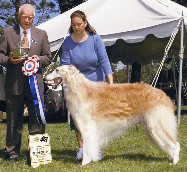 Borzoi Club of Ontario 2005 Best in Specialty / Best of Winners / Winners Dog